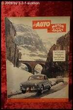 Das Auto AMS Auto Motor Sport 3/53 VW Käfer Magirus Deutz Studebaker