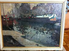 Raoul Hynckes Dutch   Oil Painting on canvas w/ Frame  1915.  Listed artist