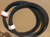 Pair of Kenda 'ALL BLACK K816' 26 x 1.95 (ETRTO 50-559) Knobbly MTB Tyres NEW!