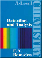A-Level Chemistry - Detection and Analysis, Ramsden, Eileen, Used; Good Book