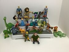 Disney Figures Cake Toppers Lot Of 30 Misc Different Characters