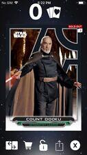 Topps Star Wars Digital Card Trader Galactic Files AOTC Count Dooku Insert Award