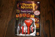 New Pumpkin Masters Pumpkin Carving Kit for Pumpkins 17 Pieces(12 Patterns&5 Too