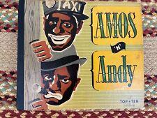 VINTAGE - 78 RECORD COMPLETE SET - AMOS & ANDY - BLACK AMERICANA - RADIO SHOW