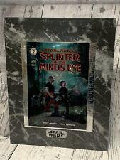 Star Wars Rare Splinter Of The Minds Eye chromart print with certificate 1995