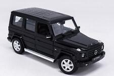 Welly 1:24 Mercedes Benz G-Class G55 G500 Black Diecast Model Car New in Box