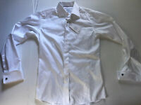 Eton Slim 38 Button Down Shirt Mens White
