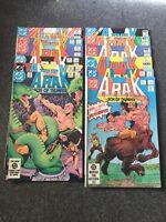 DC Comic ARAK SON OF THUNDER 12 Issues Inc #2