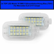 2x LED Modul 18 SMD Fußraumbeleuchtung Mercedes CLA C117 Coupe Blau (7201)