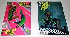 """Green Arrow #136 & # 137  (1998 1st Series)  """"Return from Death of Oliver Queen"""""""