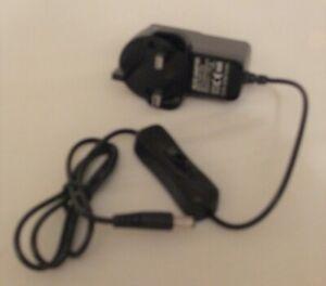 Universal AC/DC Adapter Model xzgm-12038k With Rocker Switch