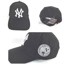 New York Yankees Ball Cap Baseball Cap Unisex Black White NEW Adjustable