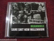 MEANWHILE Same Shit New Millennium CD Dischange Krigshot Wolfbrigade  Sweden