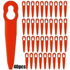 40 Stk Gras Kunststoffmesser Ersatzklingen Für STIHL FSA 45 Akku-Rasentrimmer