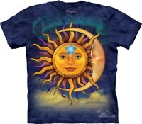 Sun Moon T-Shirt by The Mountain. Tee Sizes S-3XL NEW