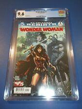 Wonder Woman #1 Rebirth CGC 9.6 NM+ Gorgeous Gem Wow