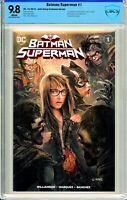 Batman / Superman #1 Comics Elite John Giang Exclusive - CBCS 9.8!
