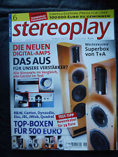STEREOPLAY 6/02 AUDIO PHYSIC STRADA,AVM INSPIRATION A6,SHARP DVD SH 111,ELAC 203