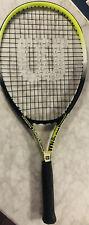 Wilson OS 500 Oversize 121 sq inch head 4 3/8 grip Tennis Racquet Stop Shock