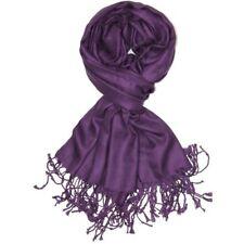 Pashmina Scarf Shawl Veil Of Dark Purple Quality Wrap Woman Wedding Accessory