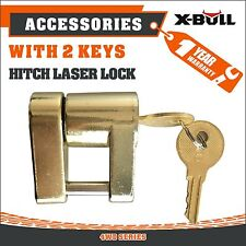 X-BULL Hitch Laser Lock Compact Trailer coupling 2 keys Caravan Anti-Theft 4x4