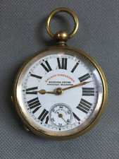 Antique Swiss Pocket watch Railway Timekeeper