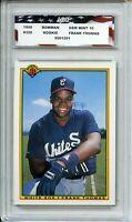 1990 Bowman #320 Frank Thomas Rookie Card AGC 10 Gem Mint Chicago White Sox