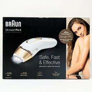 Braun Silk-expert Pro 5 PL5014 IPL Set - NEW - Sealed in a Damaged Open Box