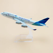 Air Garuda Indonesia Airlines Boeing 747 B747 Aircraft 16cm Airplane Model Plane