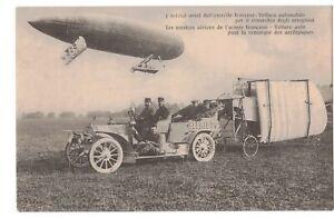 ** TOP CPA, Guerre 14/18, Aviation, Voiture-Auto pour la Remorque des Aéroplanes