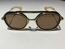 a65c783097db Dita Spacecraft Sunglasses 19017-A-BLK-GLD-52 100% Authentic