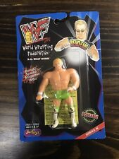BILLY GUNN WWF Bend Em MOC WWE JUSTOYS BendEms Bend-Ems Bendie