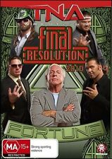 TNA final RESOLUTION 2010 (Rob VAN DAM Jeff HARDY ABYSS) Wrestling DVD NEW Reg 4