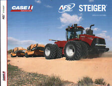 "CASE IH ""AFS Connect Steiger"" Articulated Tractor Specification Brochure Leaflet"