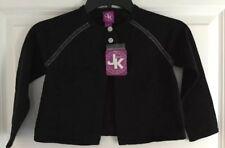 NWT K KHAKI GIRLS SIZE 3T Long Sleeve 100% Cotton Black Sweater MSRP $28.00