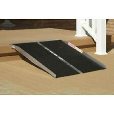 Wheelchair Ramp 2 FT long, portable, slip-resistant traction surface no tax