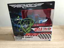 Air Hogs Hyper Drift Drone Blue Spinmaster brand new in box boys Christmas Gift