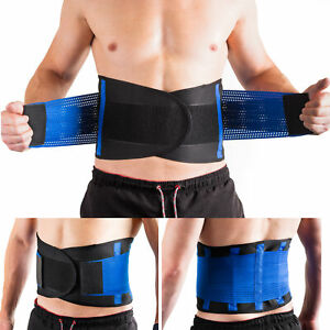 Lower Back Support Belt Brace For Pain Relief Injust Prevention Adjustable Strap