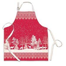Michel Design Works Cotton Apron Christmas Snowy Night - NEW