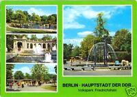 AK, Berlin Friedrichshain, Volkspark Friedrichshain, vier Abb., 1978