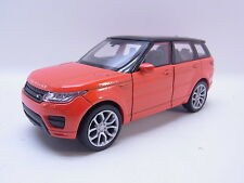 LOT 40761 | Welly Range Rover Sport orange-schwarz Modellauto 1:40 NEU