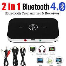 Adaptateur musique HIFI sans Bluetooth 2 en 1 récepteur émetteur audio 3,5mm RCA
