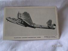 VALENTINE'S AIRCRAFT RECONGNITION CARD THE DORNIER DO 24