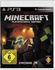 PlayStation 3 Sony Minecraft alemán OVP impecable