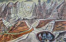 Edward Bawden RA (1903-1989) Original Lithograph 1949 (lk Eric Ravilious)