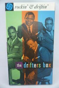The Drifters - Rockin' & Driftin' - 3 CD Book BOX SET (RARE & OOP)
