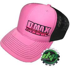 Duramax diesel Richardson trucker PINK hat black mesh snap back Dmax cap