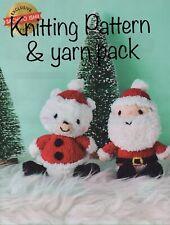 Christmas Knitting Kit - Yarn & Knitting Pattern Magazine Extract