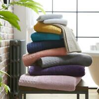 Waffle Bath Towel 100% Cotton Hand Towel Bath Towel Soft Extra Absorbent Towel