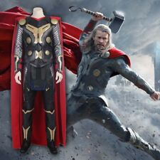 Cafiona Hot Thor The Dark World Thor Odinson Cosplay Costume Cool Man Outfits
